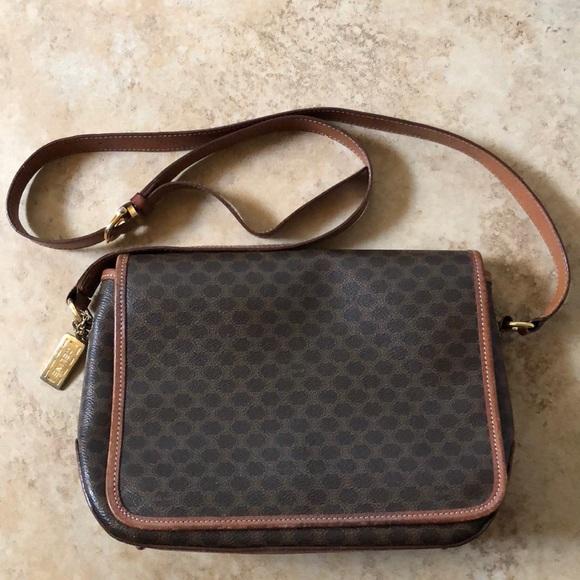 72e35e0c5f1 Celine Bags   Vintage Cline Monogram Crossbody Bag   Poshmark